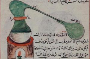 Fig.5.Arabic_manuscript_distillation_process_chemistry